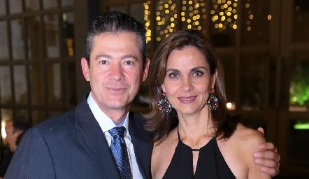 Antonio Mendizábal y Rocío Nieto de Mendizábal.