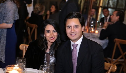 Alejandra Quesada y Alejandro Villasana.