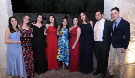 Amigos de la novia.