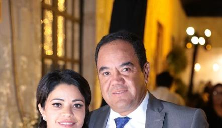 Marilupe y Alejandro Aguillón.
