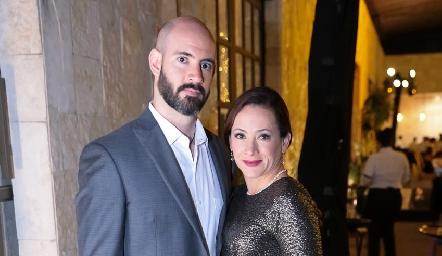 Juan Manuel y Amira Torres.