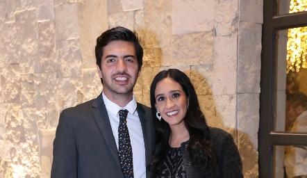 Mauricio Espinosa y Marijó Abud.