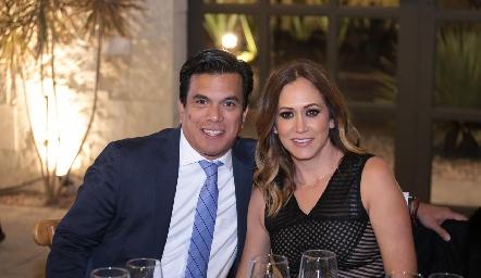 Carlos y Cristina Ramírez.