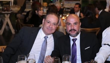 Manolo Martins y Manuel Carrillo.