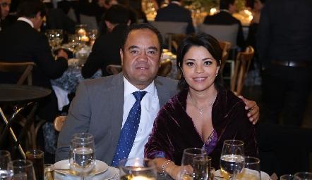 Alejandro y Mary Lupe Aguillón.