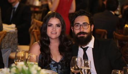 Isa Torre y Juan Antonio Gómez.