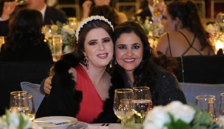 Luli Robles y Sofía Cabrera.