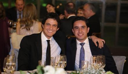 José Cabrera y José Ignacio Gutiérrez.