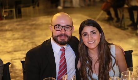 Jorge Méndez y Dalel Kasis.