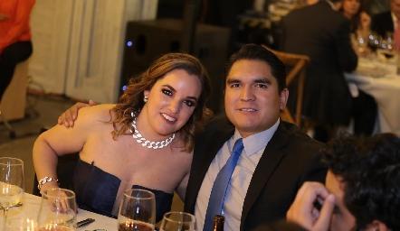 Alejandra Gutiérrez y Oscar Orozco.