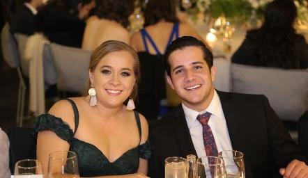 Paulina Vega y Pablo Lavín.