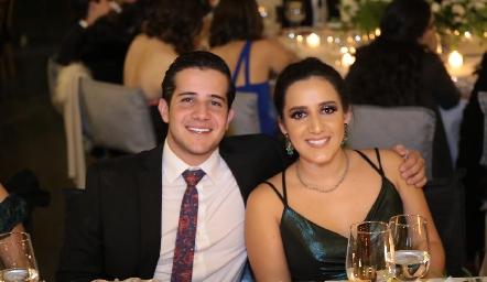 Pablo y María Lavín.