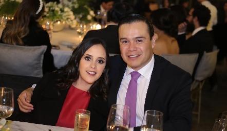 Elena Meade y Manuel Zacarias.