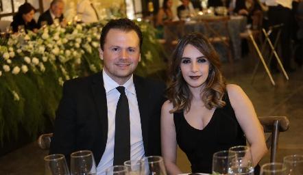Rodrigo Carlos y Ángela Padrón.