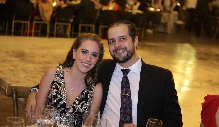 Bertha Vega y Luis Salguero.