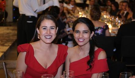 Ana Fer Yáñez y Jessica Rodríguez.