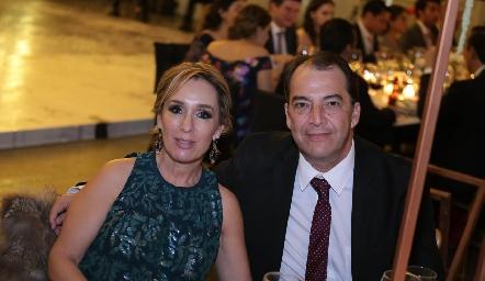 María Elena Ávila y Eduardo González.