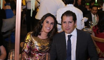 Gabriela Ramírez y Ramón Orozco.