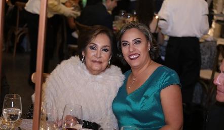Elena Ramírez y Beatriz Castro.