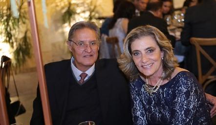 Oscar Orozco y María José Ojeda.