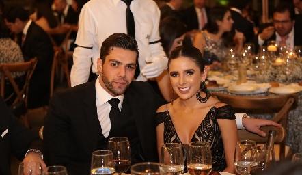 Joe Lorca y Priscila Flores.