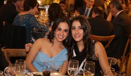 Fernanda y Jimena Abud.