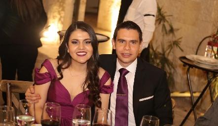 Andrea y Agustín.