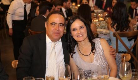 José Cabrera y Alejandra Gutiérrez.