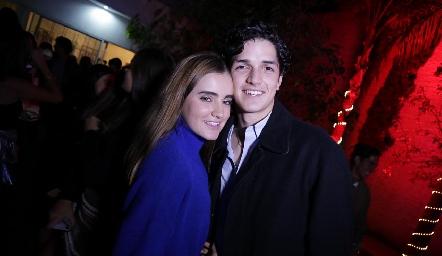 Lore de la Garza y Oscar Vera.