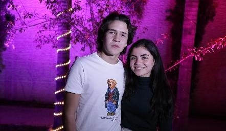 Diego Buendía y María Emilia Díaz.