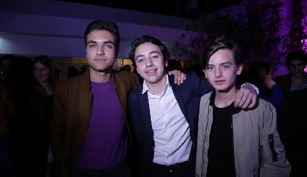 Rafa Piñero, Padilla y Pato Sarquis.