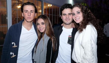 Ro Navarro, Camina Navarro, Jero Gómez y Lucía Hernández.