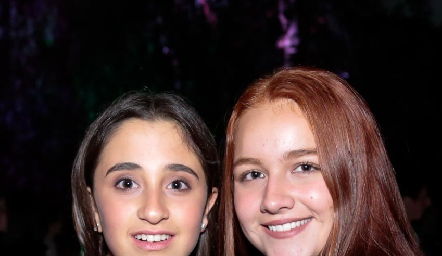 Sofi Oliva y Nuria Naranjo.