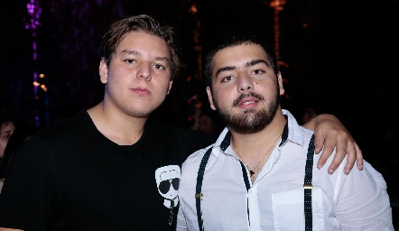 Moy y Juan Pablo Payán.