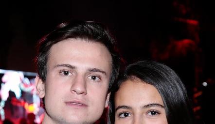 Santiago y Marisol Corripio.