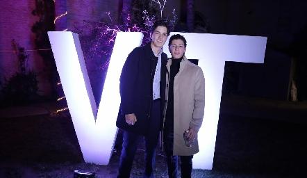 Oscar Vera y Marcelo Castillo.