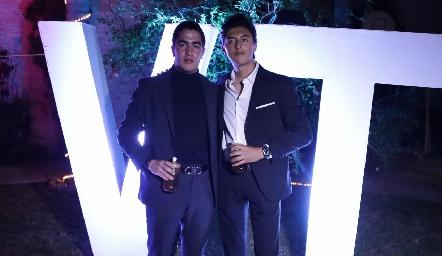 Chente y Miguel.