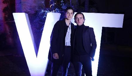 Oscar y Mateo.
