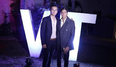 Mario y Andrés.