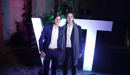 Javier y Juan Pablo.