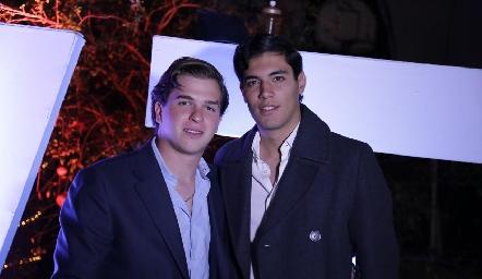 Mendi y Andrés.