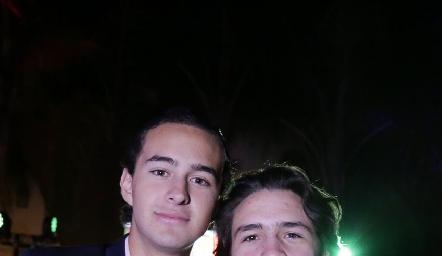 Mario Siller y Diego Buendía.