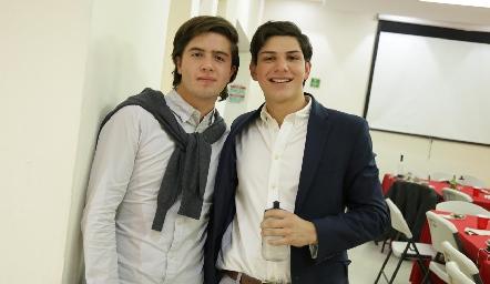 Saad Sarquis y Rodrigo Rubio.
