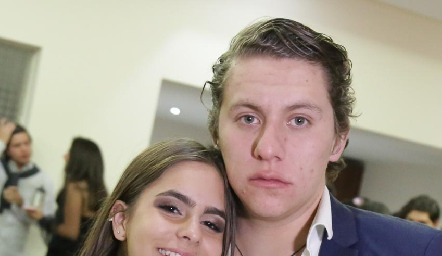 Isa Tacea y Mau Ojeda.