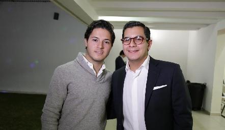 Ale Stevens y Rodrigo Villasana.