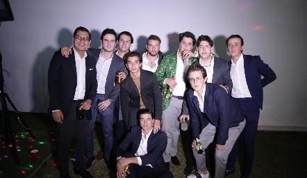 Rodrigo Villasana, Jero Gómez, Sebastián Díaz de León, Gonzalo Alcalde, Memo Pizzuto, Juan Pablo Arriaga, Dago Castillo, Ro Navarro, José Madrigal y Lolo Ferretiz.