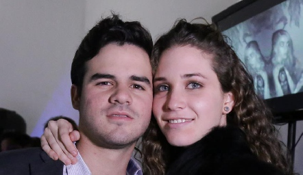 Jerónimo Gómez y Lucía Hernández.
