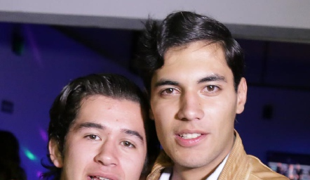 José Roberto Guevara y Andrés Quintero.
