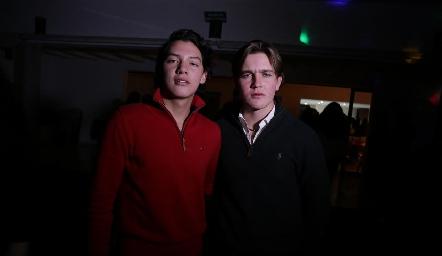 Estanislao Hernández y Alonso Rico.