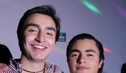 Pablo y José Luis.